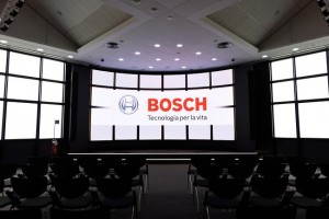 Bosch headquarters in Milan equipped with Dynacord/Electro-Voice sound system