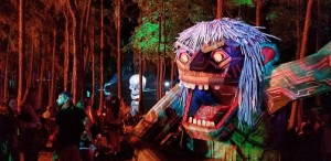 The Design Oasis and Helm Projects use Chauvet fixtures at Suwannee Huluween