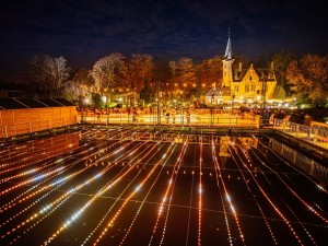 Painting with Light supports Wintergloed event in Bruges