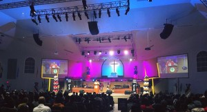 Chauvet fixtures installed at Tabernacle of Praise International church