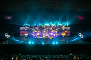 PWL lights WEGA Global Games opening ceremony in Doha