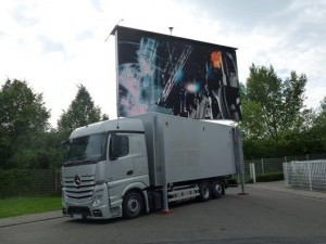 Erste LED-Truckinstallation