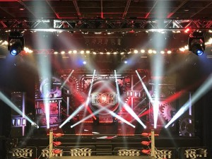 "GVP and Elation provide lighting for ""Ring of Honor"" wrestling"