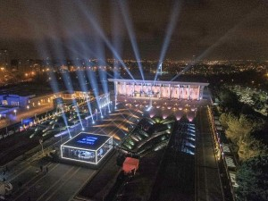 Robe supports lighting schemes during elections in Israel