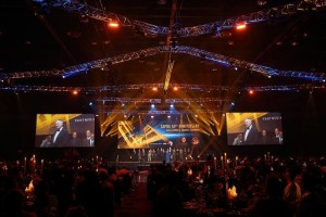 SAPOA Annual Convention lit by Claypaky