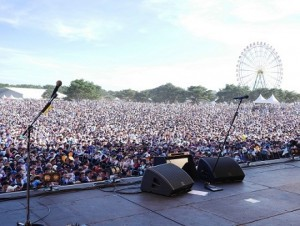 Martin Audio's WPL debuts at 'Rock In Japan'