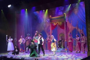 Ayrton NandoBeam-S3 fixtures used for panto show in Welwyn