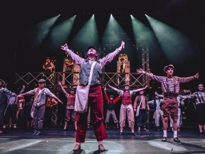 Erik Morra uses Chauvet fixtures for \'Newsies\'